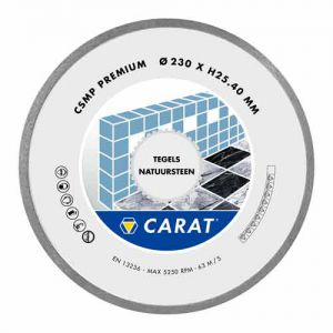 Carat diamantzaagblad tegels premium, Ø 200 x 25,40 mm, type CSMP